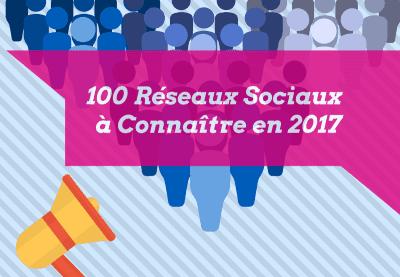 liste des reseaux sociaux 2017