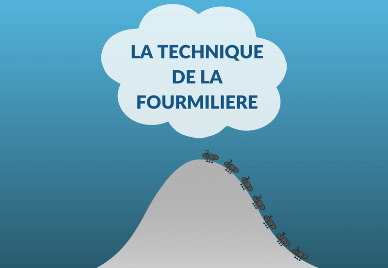Le technique de la fourmiliere