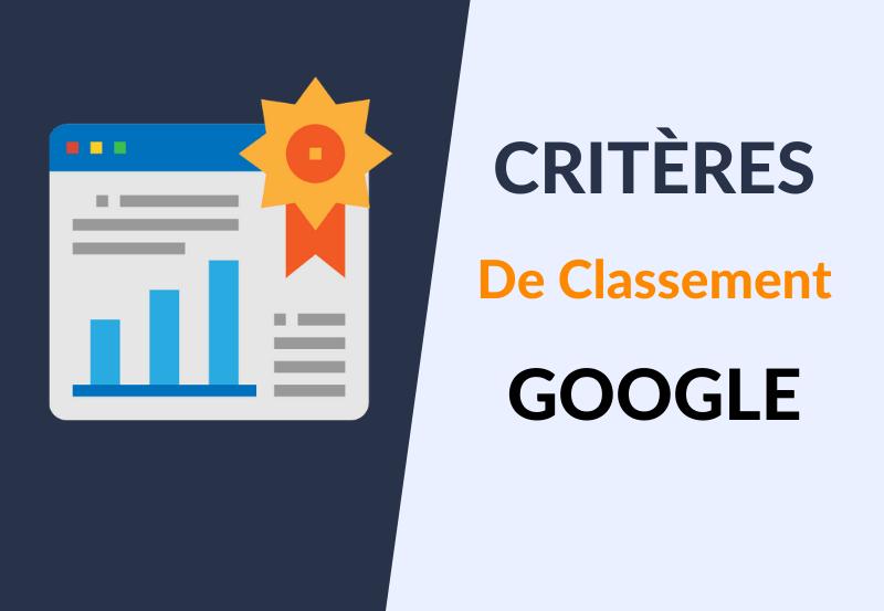 Critères de Classement Google
